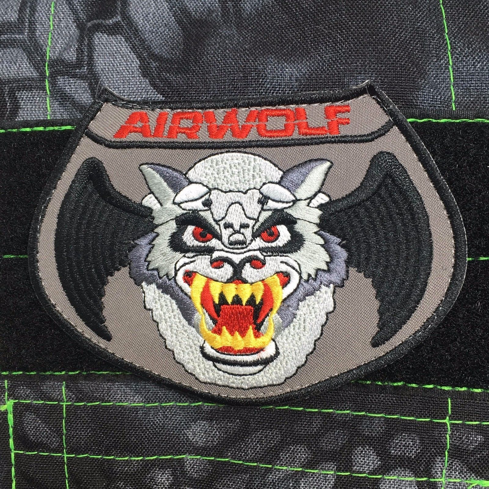 Tactical Outfitters - Airwolf Morale Patch - military navy army air ...