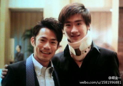 With Nan Son(CHINA)   Cup of China 2012 Banquet