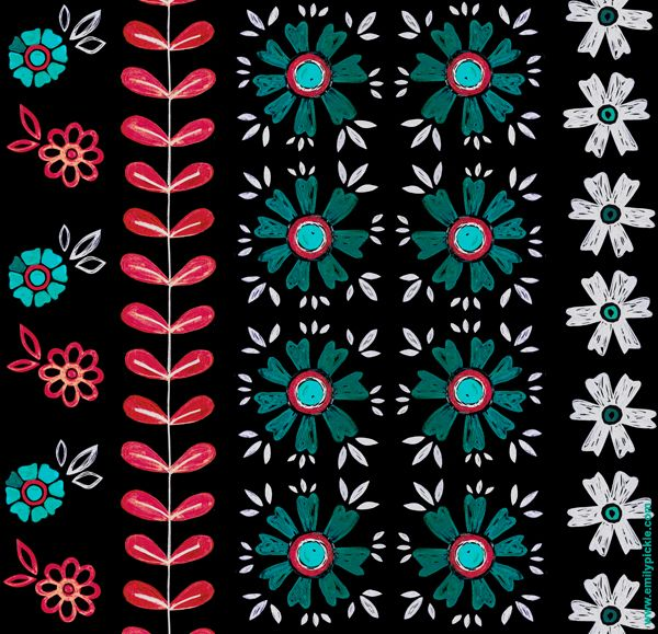 Captivating Pattern   Emily Pickle. Graphic PatternsDesign PatternsSketching TipsPattern  ... Amazing Design