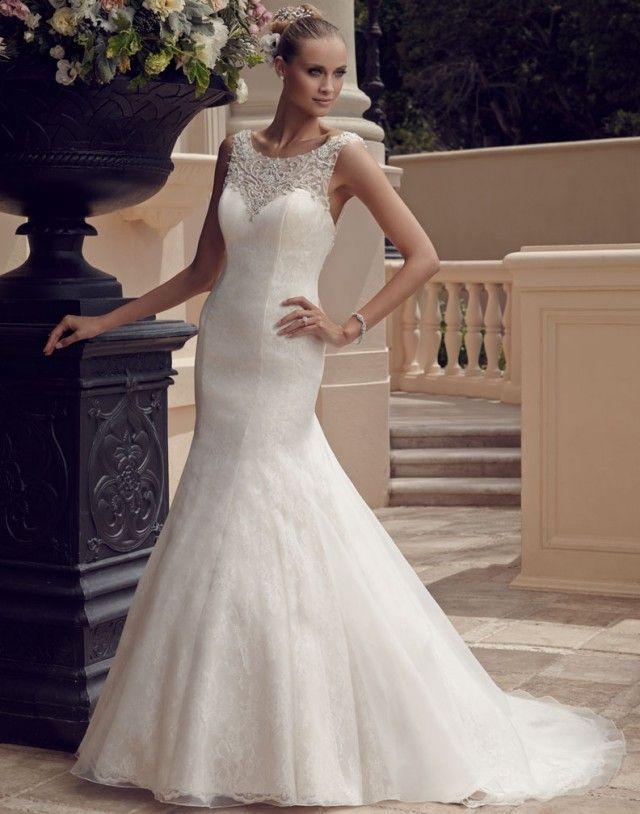 Vestidos de novia blanca bonita