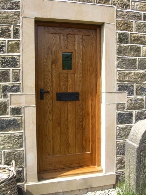 solid wood external doors made to measure bespoke wooden doors custom built for both standard and nonstandard openings