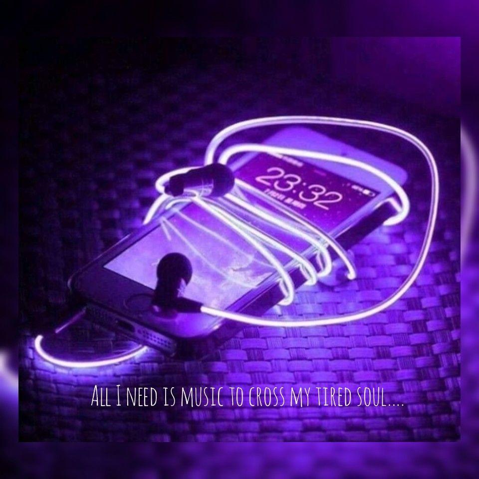 Music Peace Of Souls Purple Aesthetic Neon Purple Aesthetics Tumblr