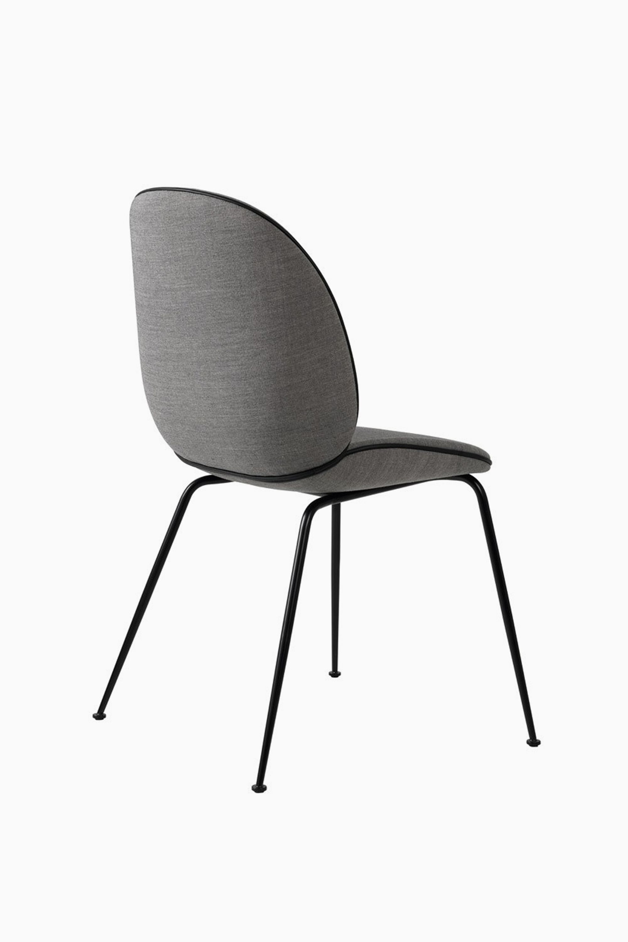 Ambiente Direct gubi beetle chair with fabric black base from ambientedirect