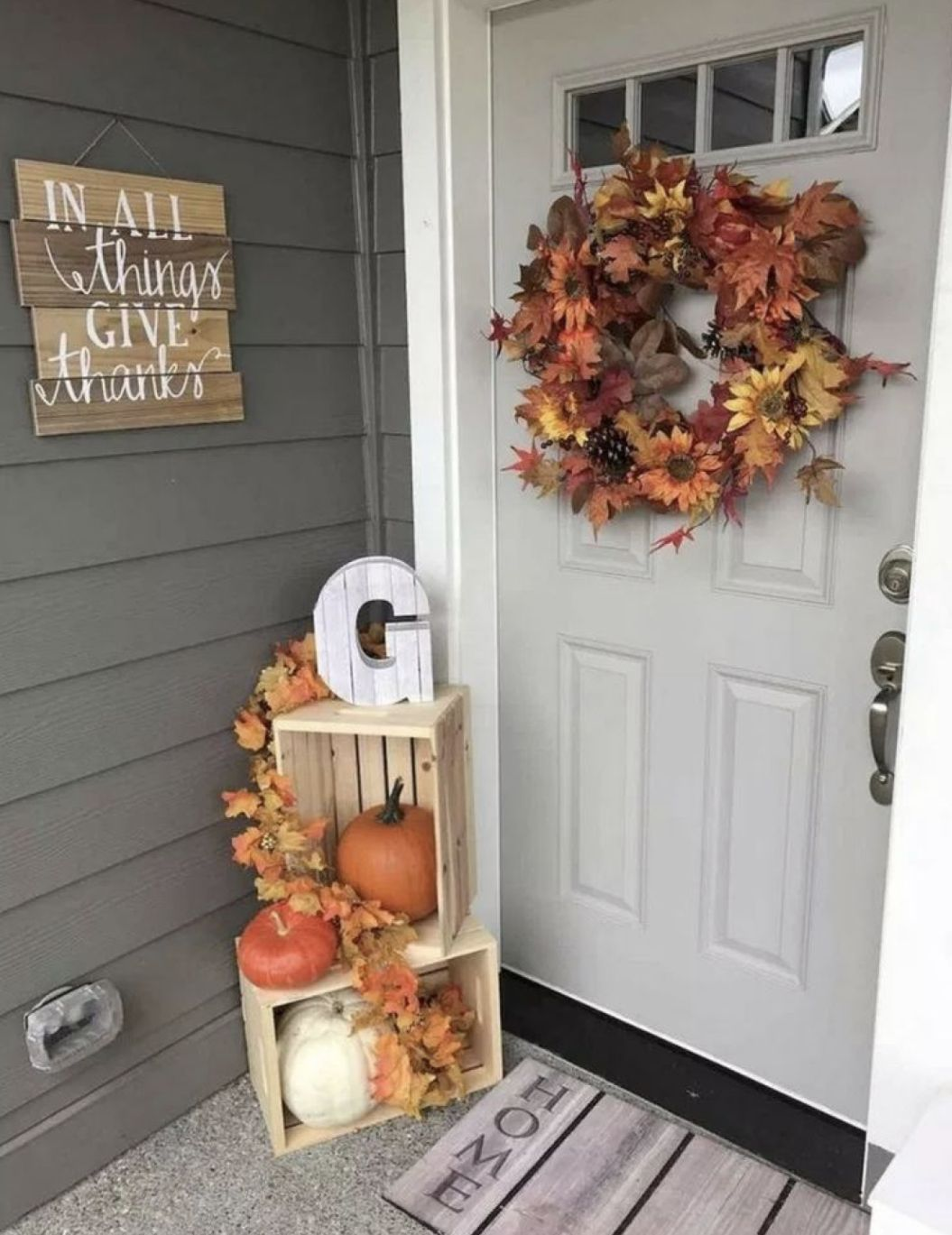 FiresideHome In-A-Word Welcome Wall Décor & Reviews | Wayfair #falldecorideasforthehome