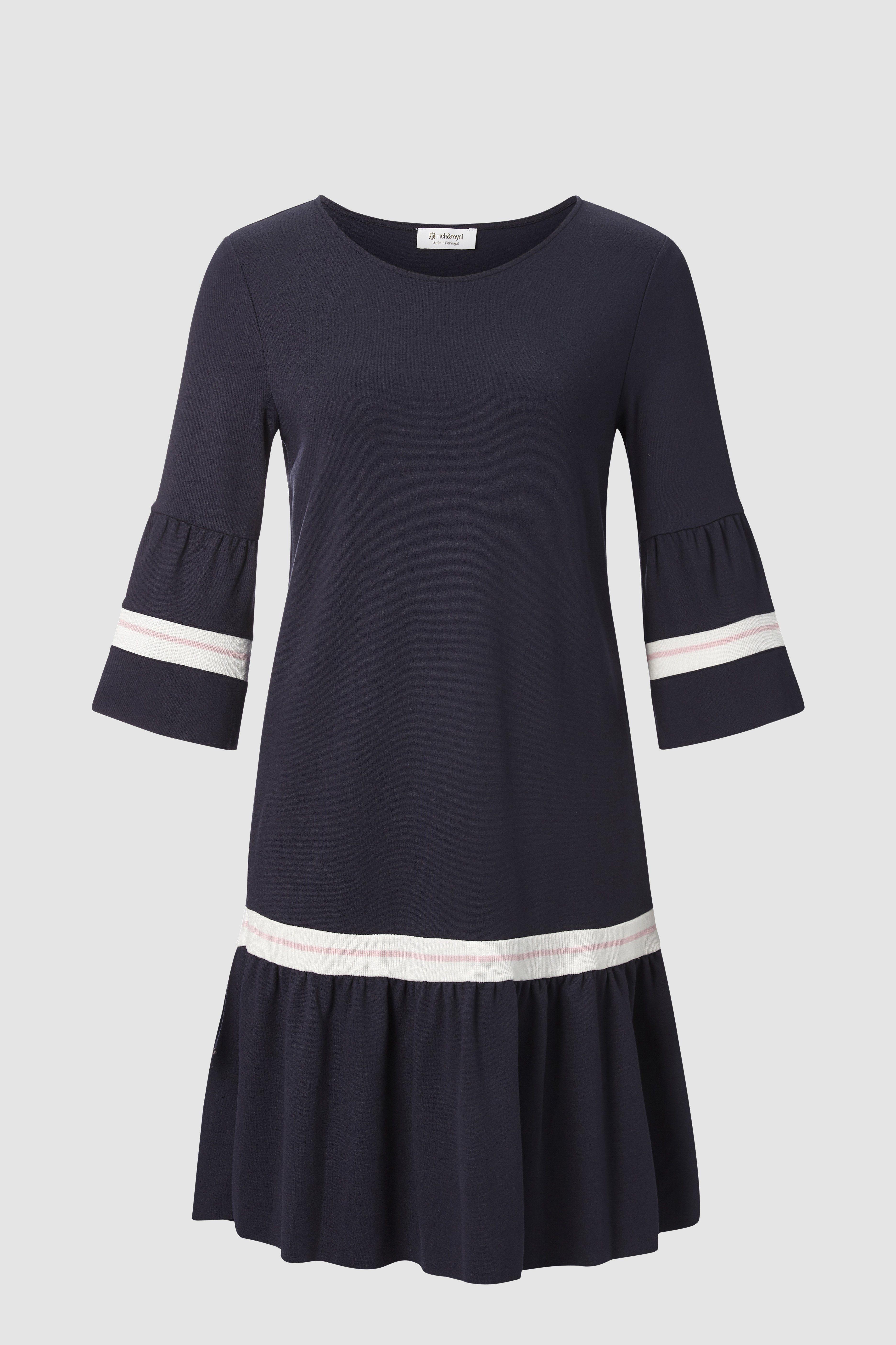 Kleid Mit Peplum Skirts Dresses Collection Rich Royal Kleider Tageskleider Rich Royal
