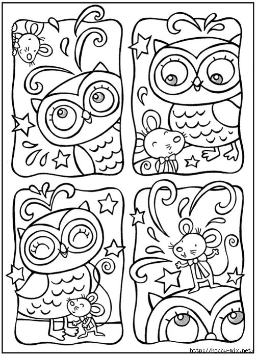 780333 001 504x700 257kb Owl Coloring Pages Coloring Pages
