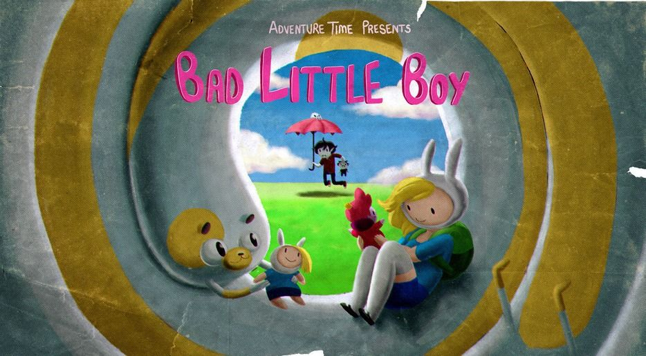 Bad Little Boy Adventure Time Background Adventure Time