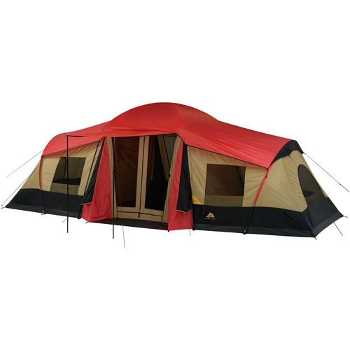 Ozark Trail 10-Person 3-Room XL C&ing Tent. Perfect for a family  sc 1 st  Pinterest & Ozark Trail 10-Person 3-Room XL Camping Tent. Perfect for a family ...