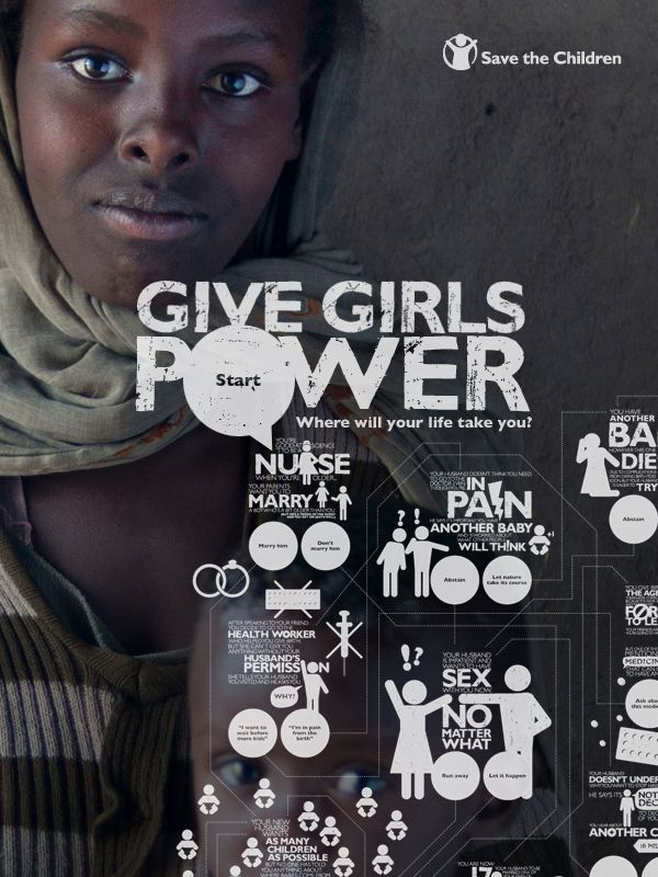Girl Power saves lives, can you make the right decisions