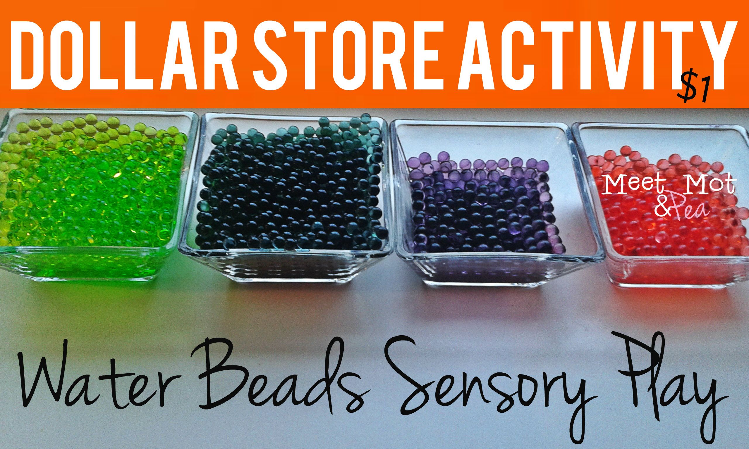 Awesome Dollar Store Activity Sensory Science Also