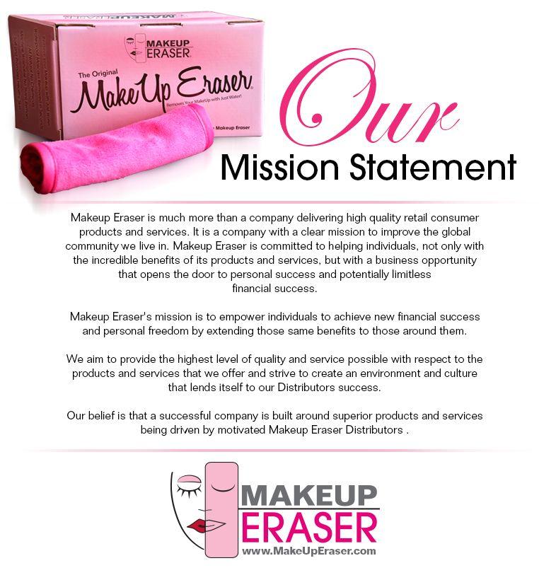 Makeup Eraser  Mission Statement  Become A Makeup Eraser