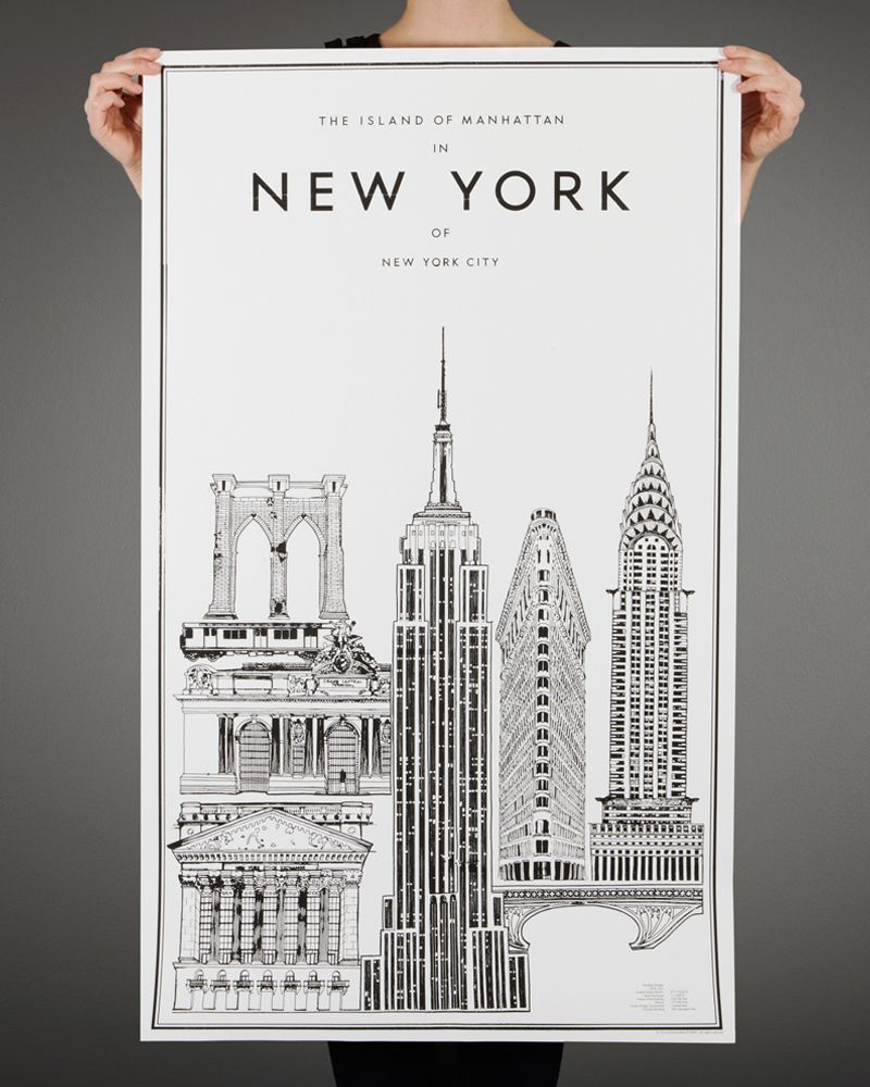 NY Print By Put It On Your Wall. I Love This So Much It