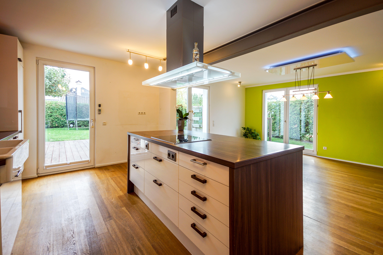 Kuche Kochinsel Led Lampe Immobilie Einfamilienhaus