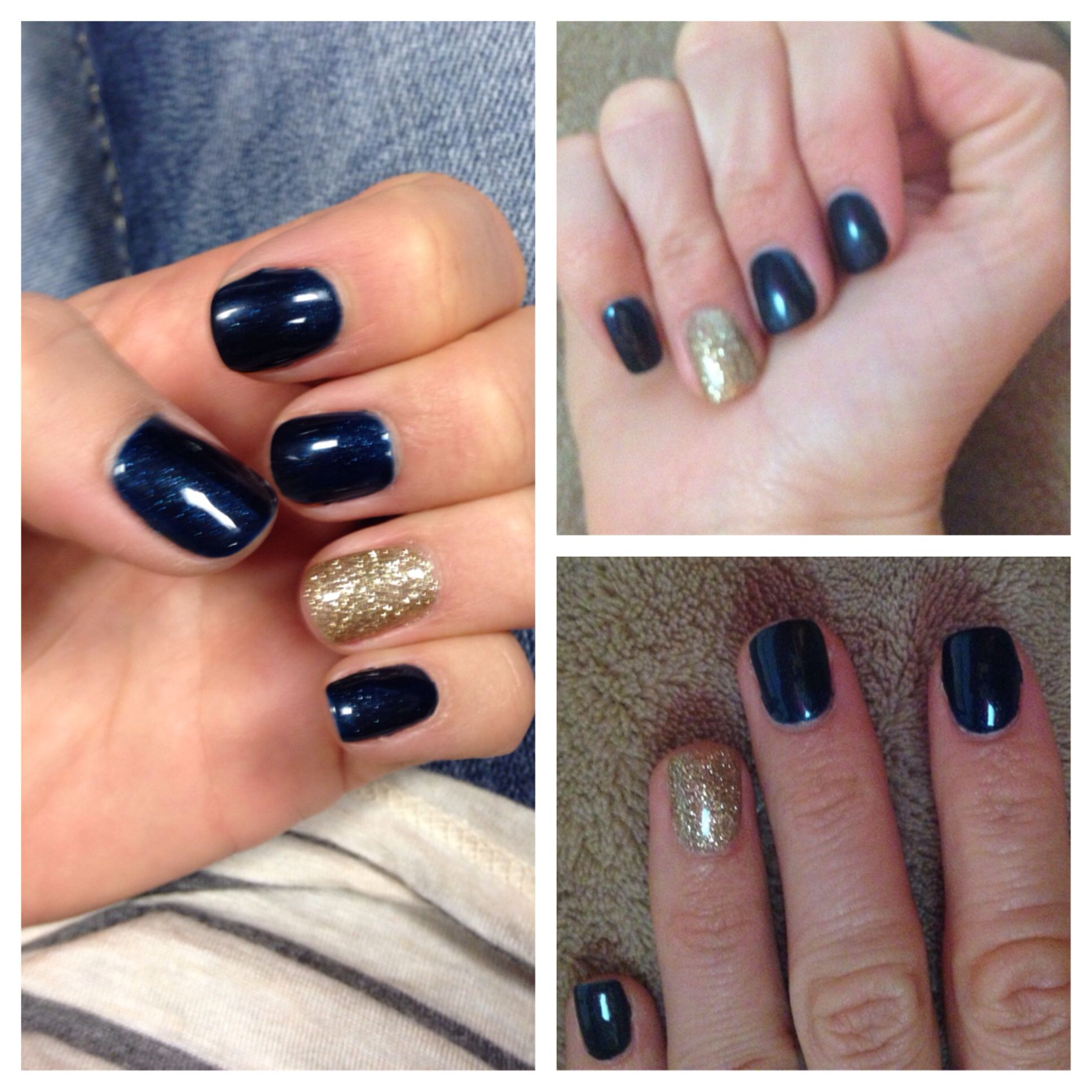 """Powder Accent Colors And Trends: CND Shellac """"Midnight Swim""""...love This Color For Fall W"""
