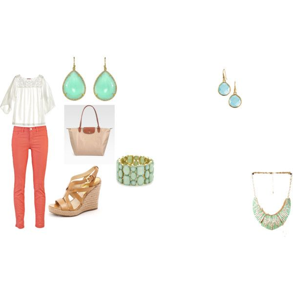 Great spring outfit. Made it on polyvore  follow me: krystinaberens