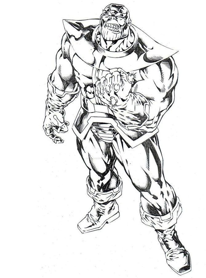 10 Beste Ausmalbilder Thanos Kostenlos (Marvel)  Coloring pages, Avenger artwork, Avengers poster