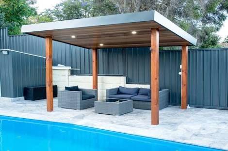 Image Result For Skillion Roof Patios Perth Pool Gazebo