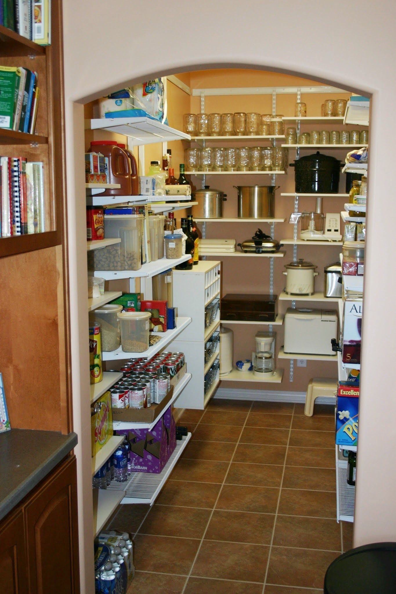 For Deep Kitchen Pantries Slide Out Pantry Shelves Are Fantastic