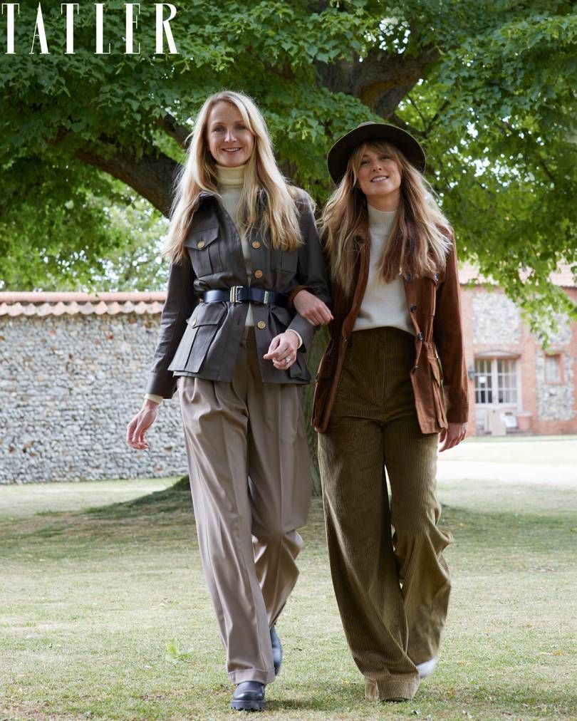 Rosie van Cutsem and sister Lucia Ruck Keene are the fashionable darlings of the young royal set