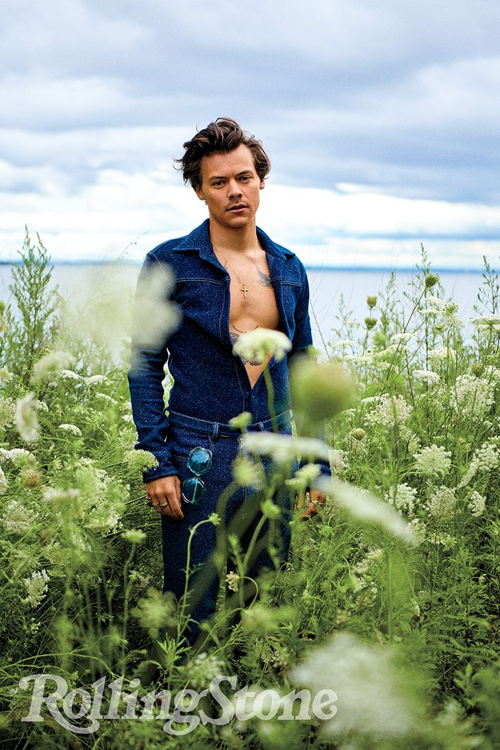 HARRY STYLES for ROLLING STONE by Ryan McGinley