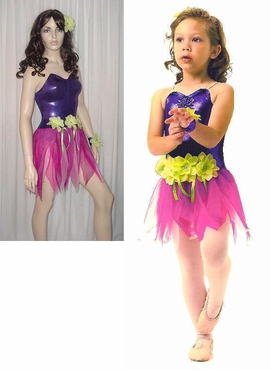 6cbb7a7183fc PIXIE DUST Sugar Plum Fairy Ballet Ice Skating Hawaiian Dance Costume  CHRISTMAS #CurtainCall
