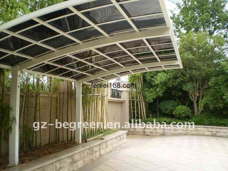 #aluminum carport tent #metal carport #flat roof carports & Freesky Car Port Rain Shelter Garden Shelter Outdoor Rain Car ...