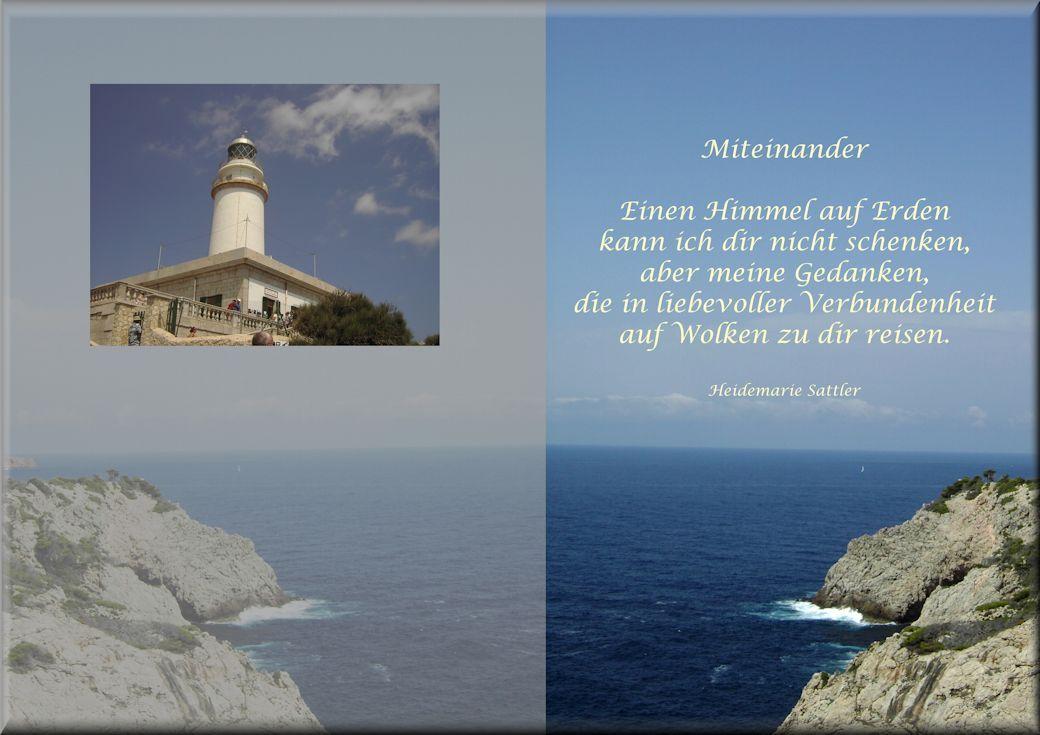 Gedicht Miteinander Fotografie Mallorca Gedichte Poems