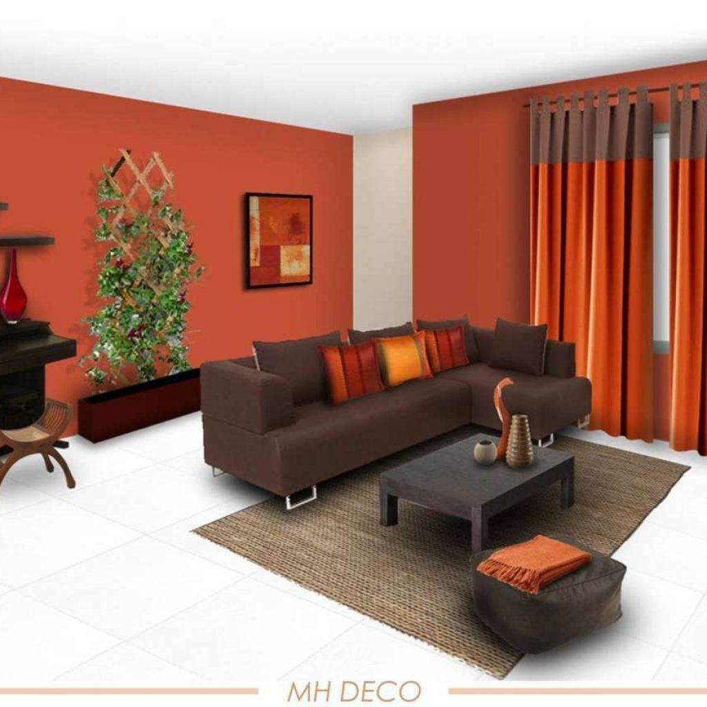 Color Schemes For Living Rooms Brown Sofa Bright Living Room