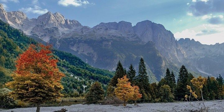 Valbona Valley National Park, North Albania