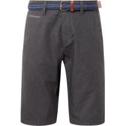 Photo of Tom Tailor Men's Josh Regular Chino Bermuda with Belt, gray, plain, size 36 Tom TailorTom Tailor