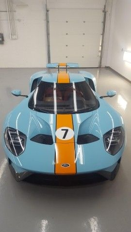 Ford Gt  Gulf Blue With Launch Control Interior Ford Gt