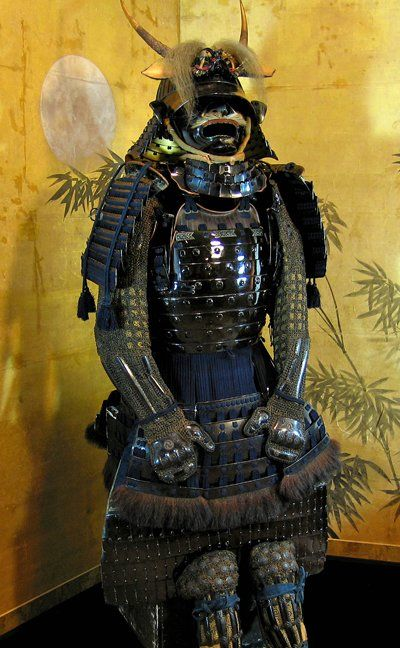 Early Edo Period Samurai Gusoku with Bear Fur [Full Dress]