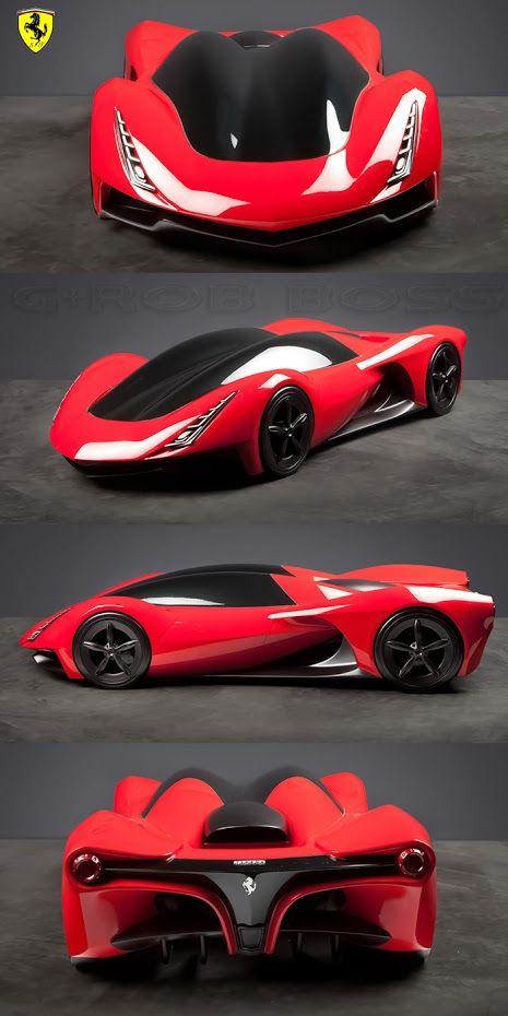 Ferrari Duo Concept Top Design School Challenge Vrooom
