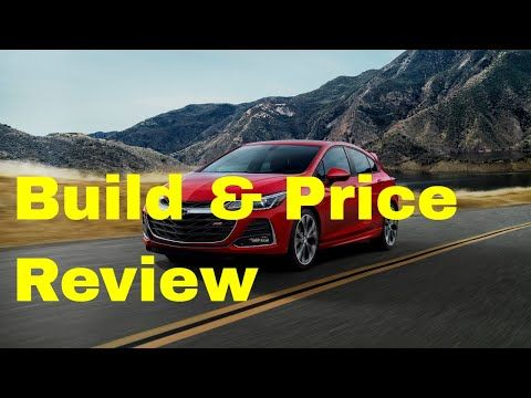 Chevy Build And Price >> The 2019 Chevrolet Cruze Premier Hatchback W Rs Package Positions