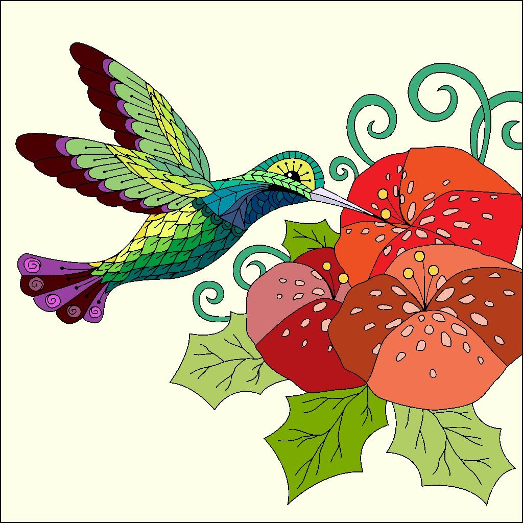 Pin By Tina Cage On Color By Number Happy Colors Coloring Pages Colorful Art