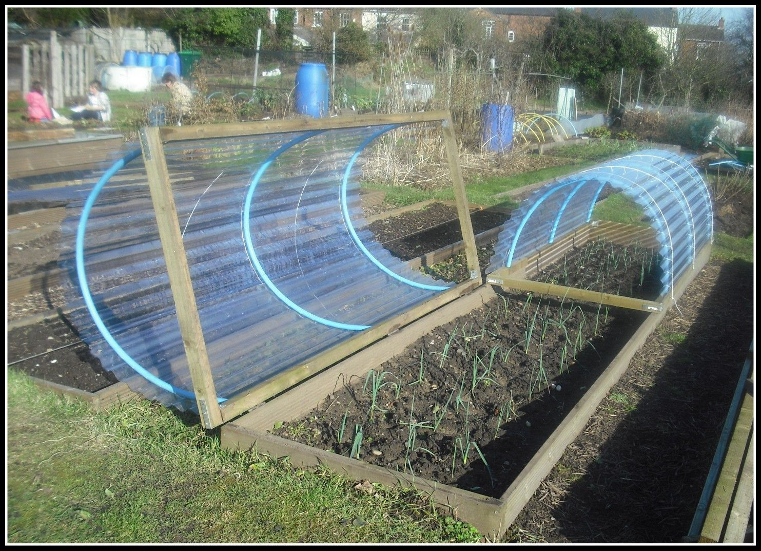 Cold frame or raised bed cover Jardins potagers