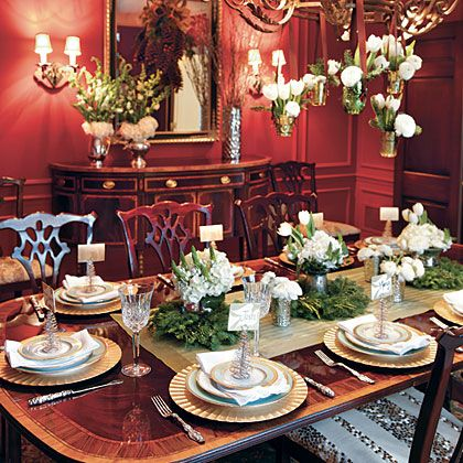 Holiday Table Settings oh-timeless holiday table settings | holiday tables, search and spring