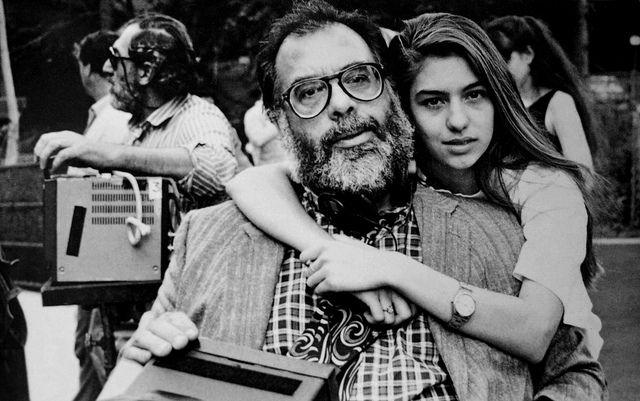 Francis Ford And Sofia Coppola Sofia Coppola Francis Ford Coppola Movie Directors