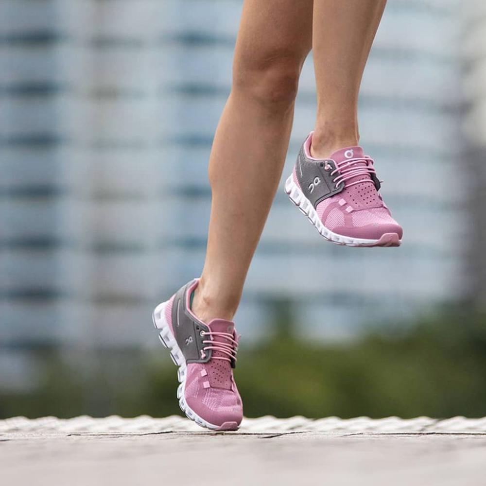 On Running Cloud Slip-On Shoe in Rose