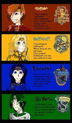 Hogwarts Founder Anime Helga Hufflepuff Salazar