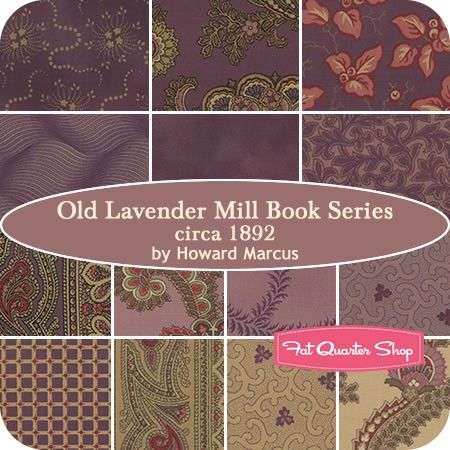 Old Lavender Mill Book Series Circa 1892 Collections for a Cause ... : fabric lines for quilting - Adamdwight.com