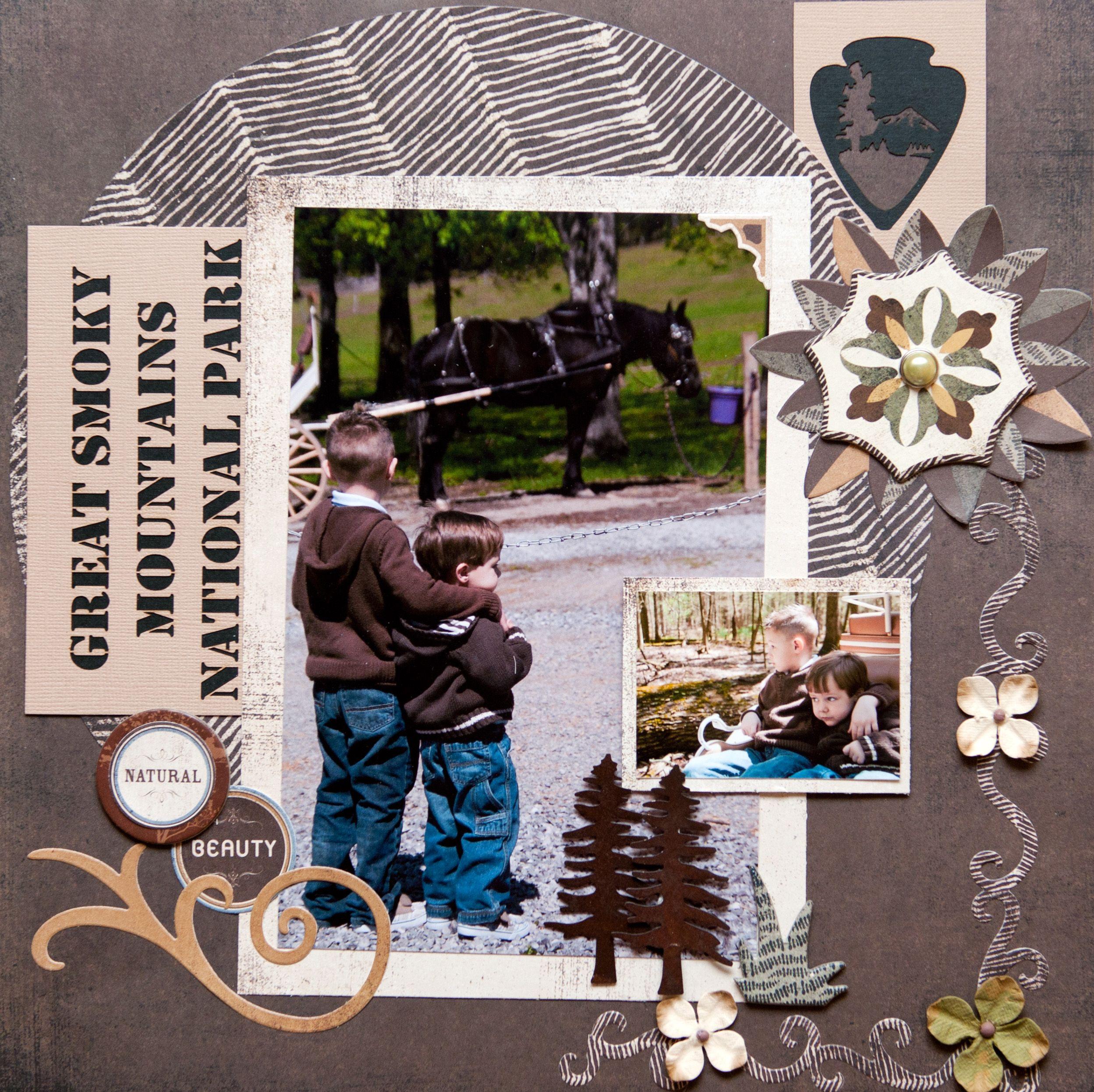 Scrapbook ideas niagara falls - Great Smoky Mountains Scrapbook Com
