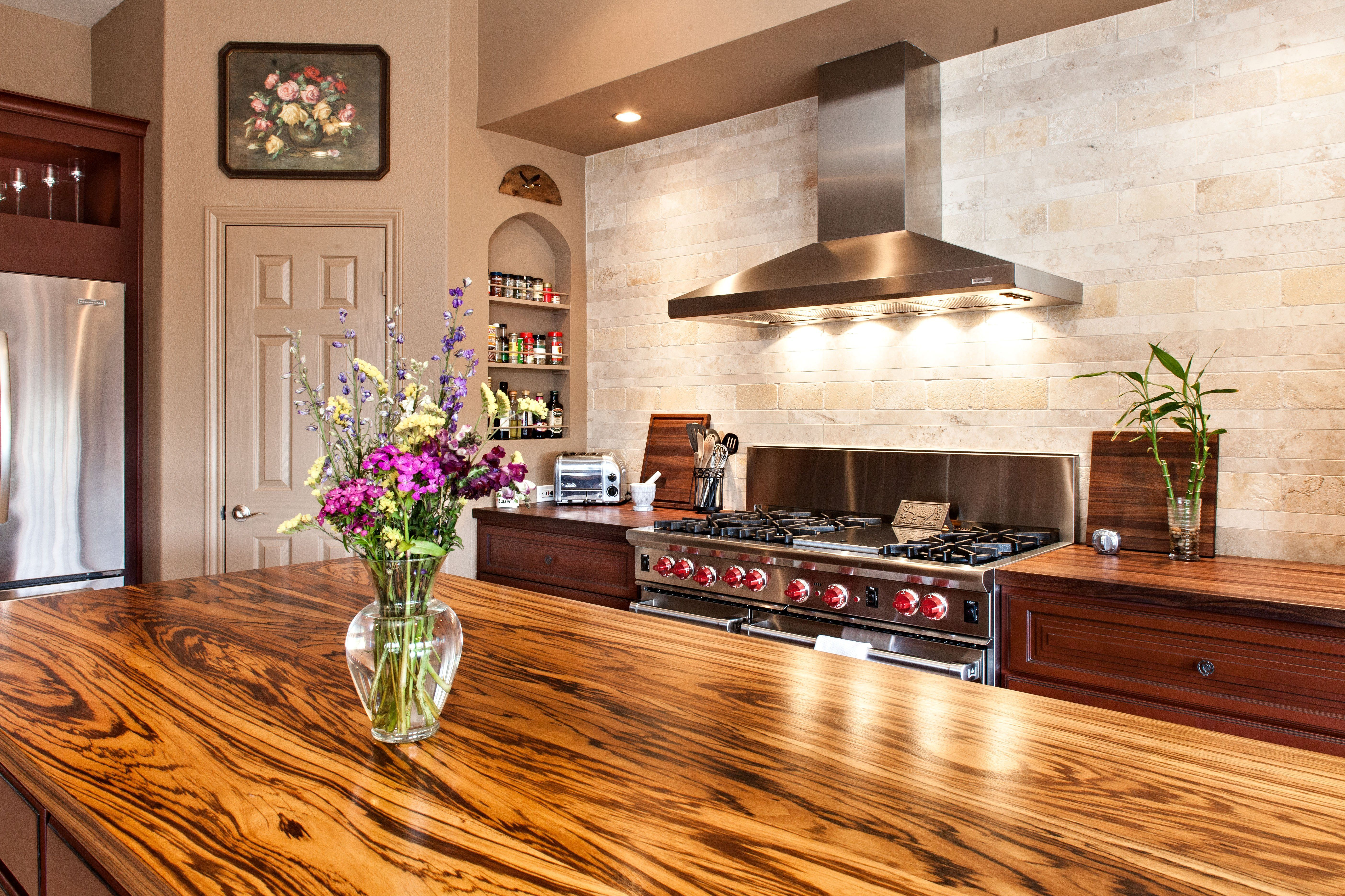 Photo Gallery Of Zebrawood Wood Countertops, Butcher Block Countertops,  Wood Bar Tops, Wood Table Tops, And Custom Wood Tables Are All Made By  DeVos Custom ...