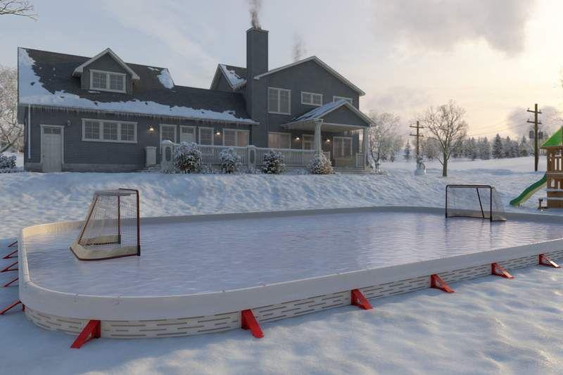 Backyard Ice Hockey Rinks - Best Home Ice Skating Rink ...