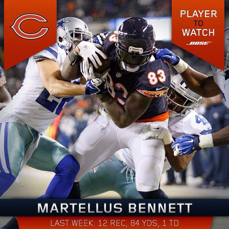Martellus Bennett dances with Patriots cheerleaders after