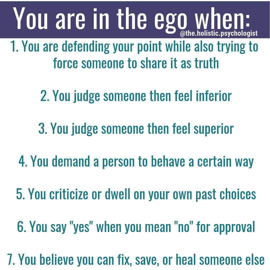 Dr nicole lepera on instagram how to begin ego work