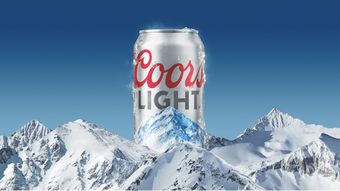 Coors Light To Hammer Message Of Cold Refreshment Beer Advertising Refreshing Beer Coors Light Beer Can