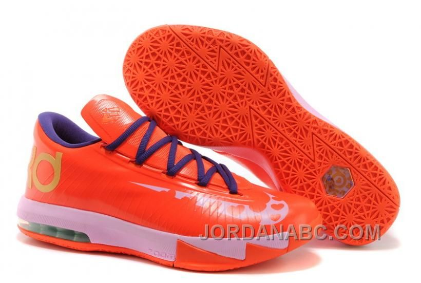 "quality design b0e2d a32fb http   www.jordanabc.com nike-kevin-durant-kd-6-vi-valentines-day-for-sale.html  NIKE KEVIN DURANT KD 6 VI ""VALENTINES DAY"" FOR SALE Only  90.00 ..."
