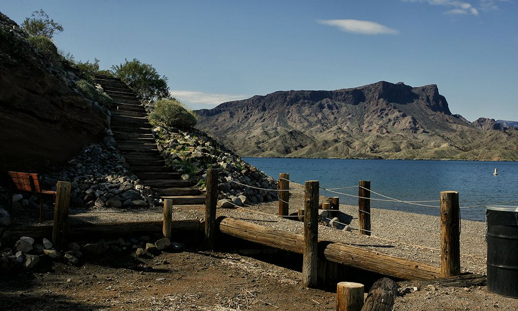 Cattail Cove State Park has not only a four-lane boat and ...