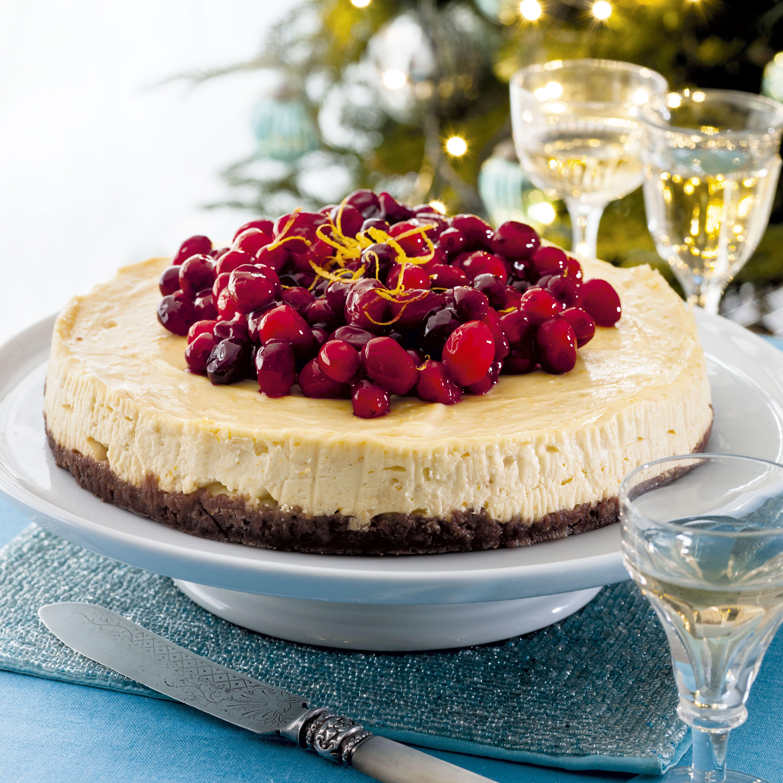 Orange & Cranberry Cheesecake. This Easy Cheesecake Will